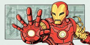 Iron Man Art Jam Piece