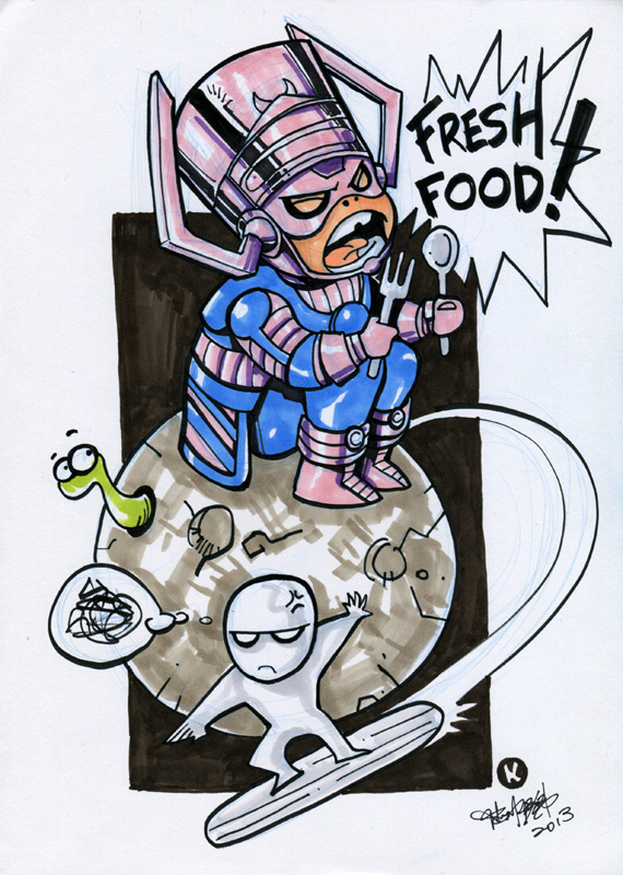 Hungry Galactus by kehchoonwee