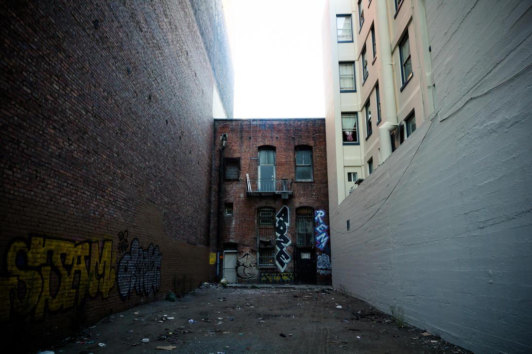 Brick Back of Market St. by crag137