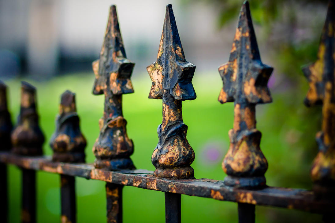 Old Mint fence by crag137