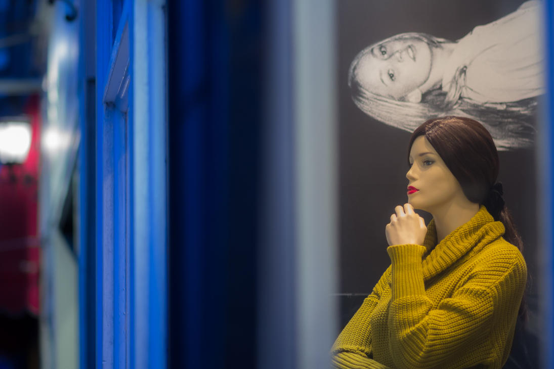 mannequin in Haight by crag137