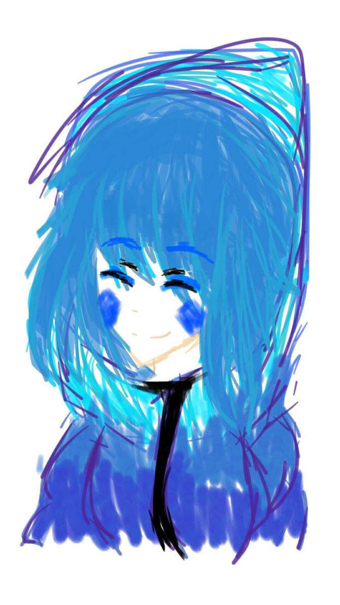 How I drew in digital art by Tsuchiri