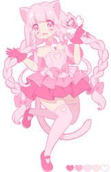 Pinku Reference by MagicalHelen