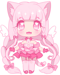 Pinku Chibi by MagicalHelen
