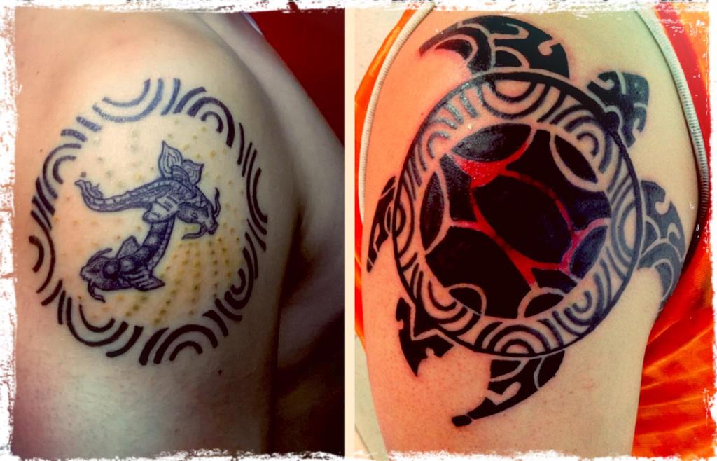 Maori Tattoo Cover Up: Cover Up Tortuga Maori By Jakomo-tattoos On DeviantArt