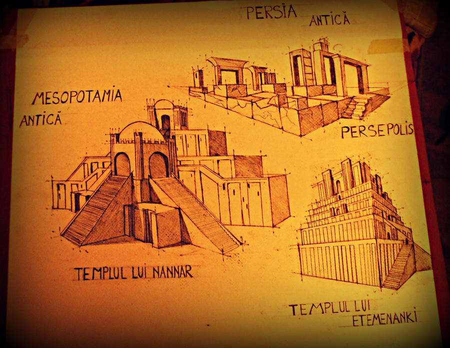 Ancient Mesopotamia And Persia Temples By OOoYumeOoO On DeviantArt