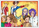 The Crew of Digimon Zero Two