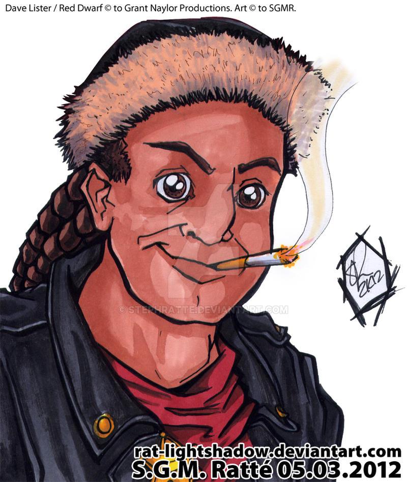 RD - :Dave Lister Bust Illustration: by StephRatte
