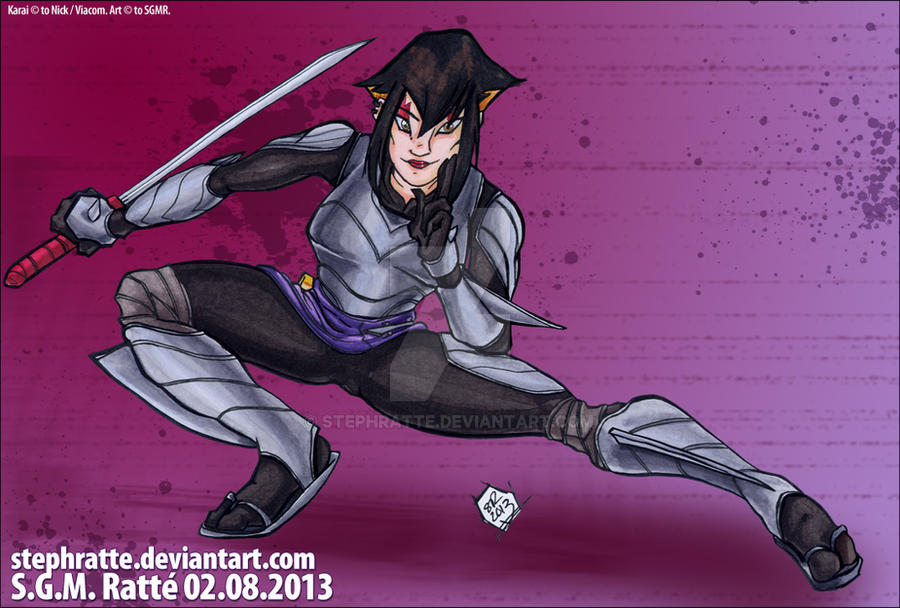 :2012 Karai: By StephRatte On DeviantArt