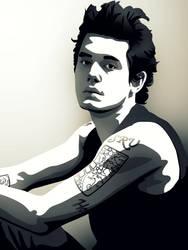 John Mayer by iReap