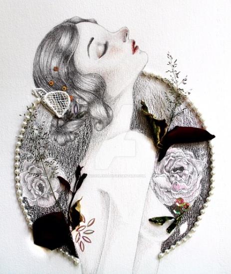 La Vie en Rose by noodlekiddo