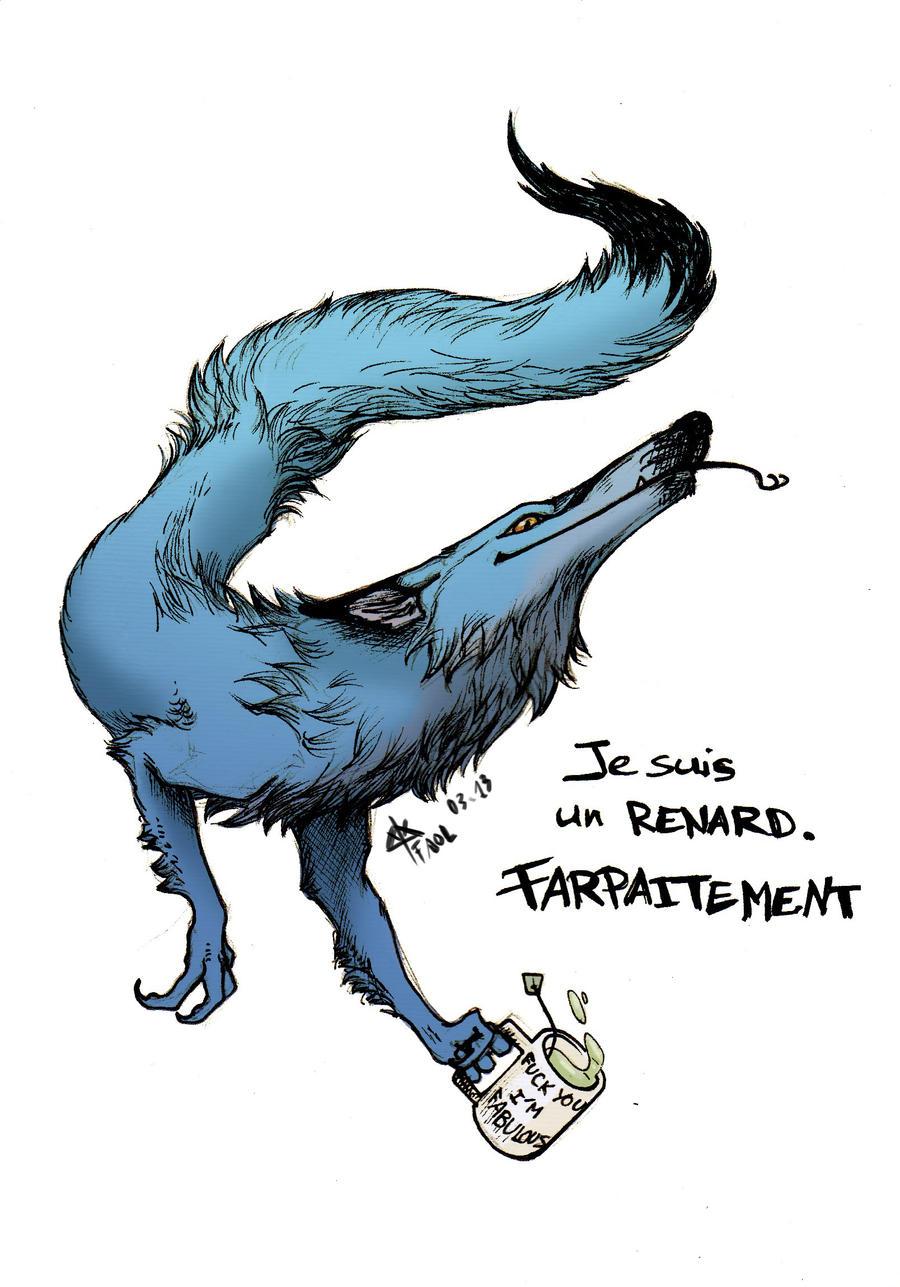 C'est un renard. Si si, j'vous assure. by Faol-bigbadwolf