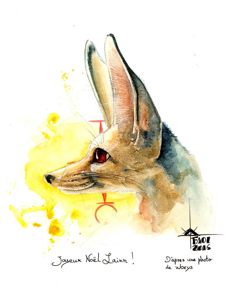 fennec by Faol-bigbadwolf