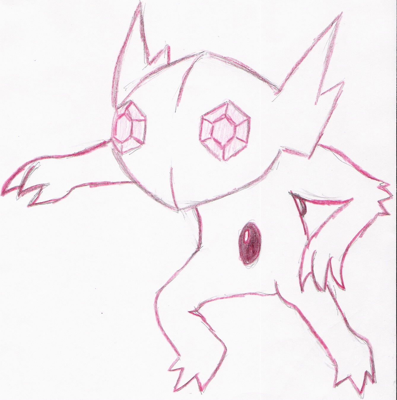 Re-Art? Oh boy. - Page 3 Sableye_by_Marching_Spirit
