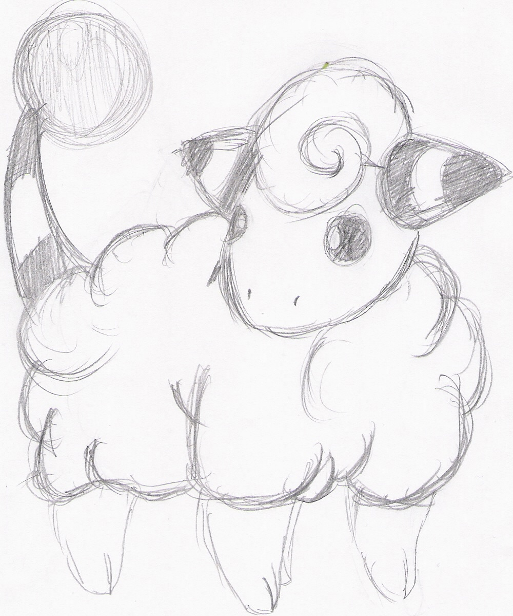 Re-Art? Oh boy. - Page 4 Mareep_ofg__gei_bgiersdrf_by_Marching_Spirit