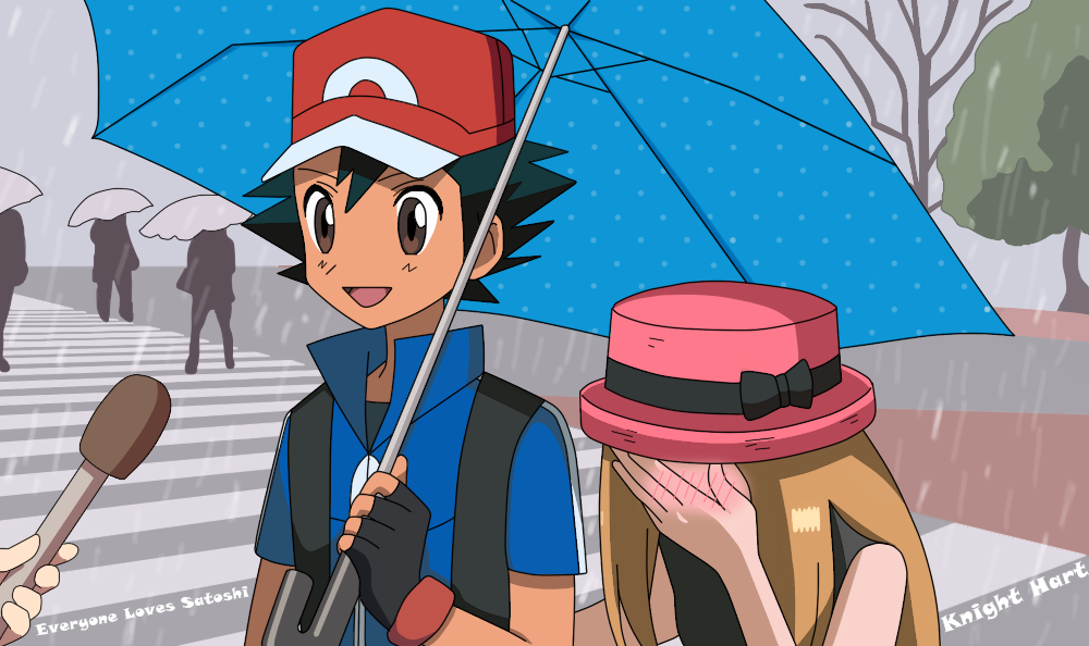 Amourshipping ash x serena general discussion spoiler warning