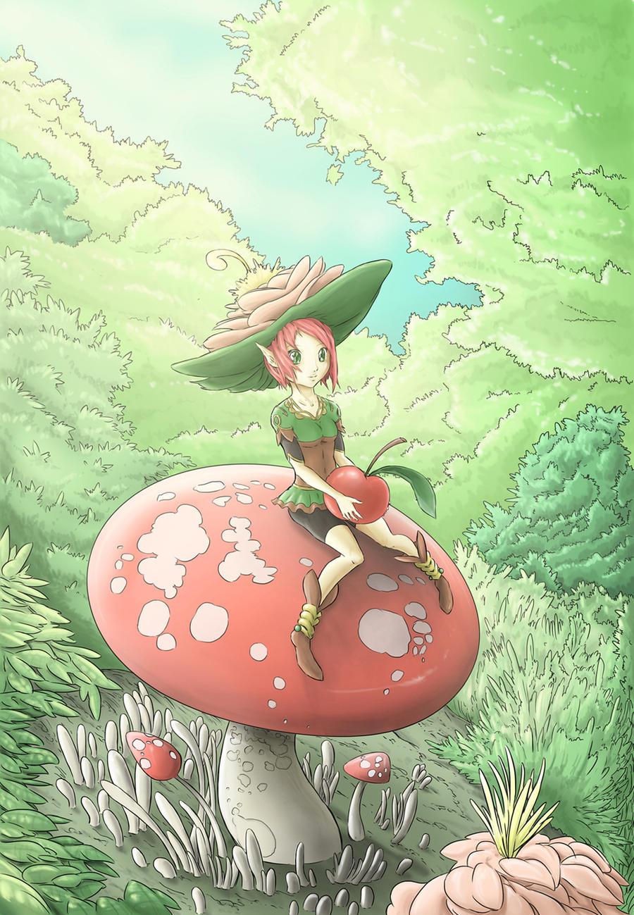 mushroom by maruu66