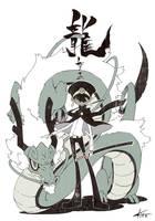 2012 Dragon by kitakazee
