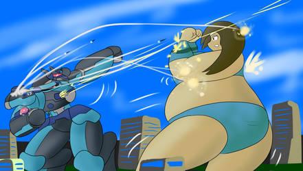 Cho Cho vs Fulynx by Feyzer