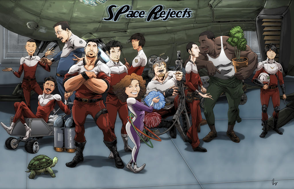the space team rejects by locohead