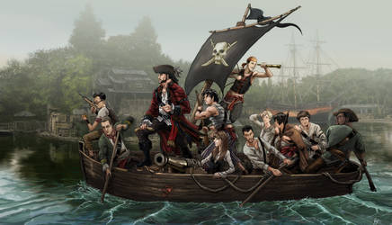 Pirates KWD7 by locohead