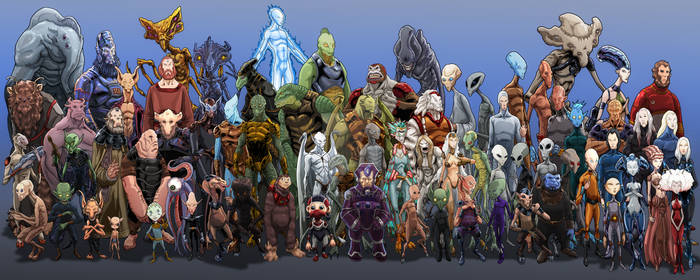 Alien Species Sized2