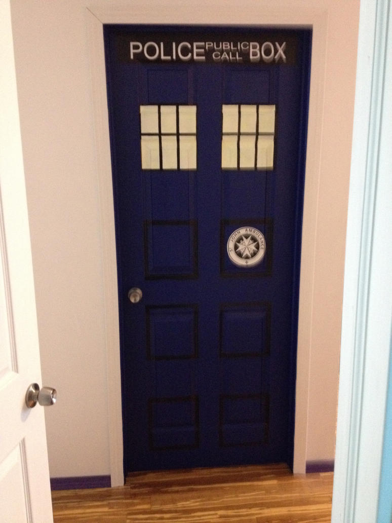 Doctor Who TARDIS Door by rentnarb