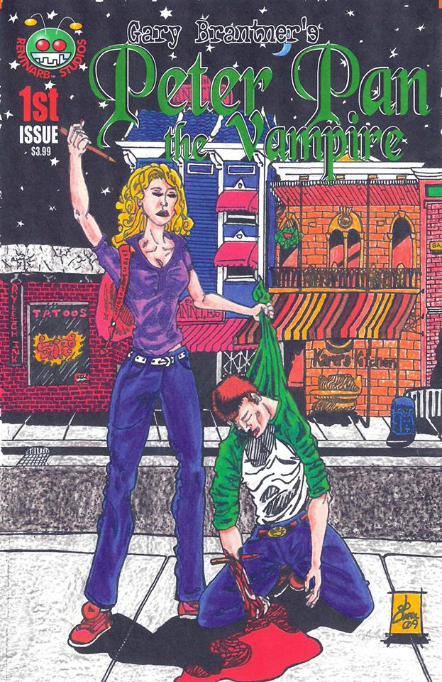 Peter Pan the Vampire #1 Cover A by rentnarb