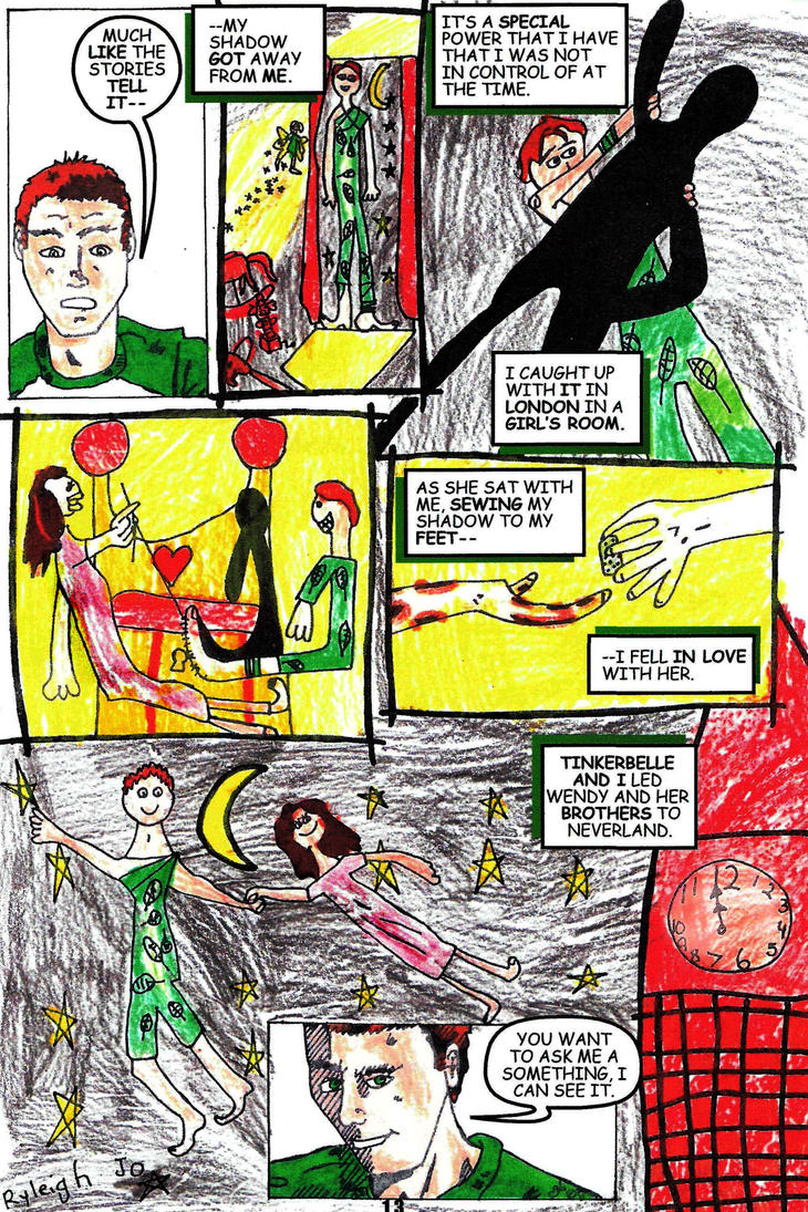 Peter Pan the Vampire #1 Page 13 by rentnarb