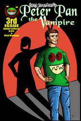 Peter Pan the Vampire 02 Dru Cover
