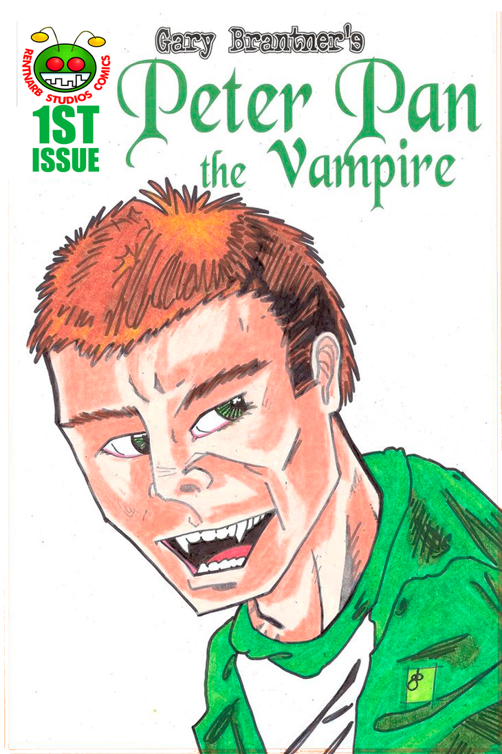 Peter Pan the Vampire 1st Issue by rentnarb