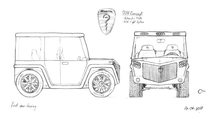 maarzz  concept suv car design by marzzel on deviantart