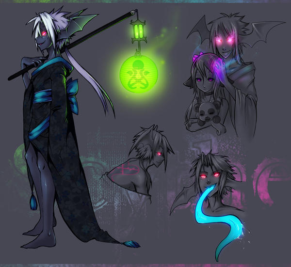 Scythe, TheHauntingDreamkeeper by Nu-Heartless