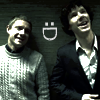 Sherlock and Watson Smile Icon by questrmwindow