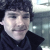 Sherlock Smile by questrmwindow
