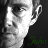 John Icon- Black and White by questrmwindow