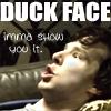 DUCK FACE by questrmwindow