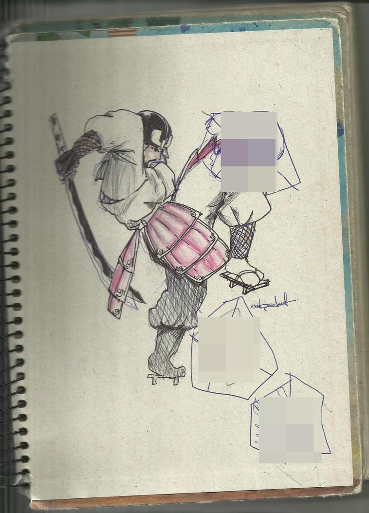 Dancrox GALERIA - Página 2 Samurai_by_dancrox-d6aw166
