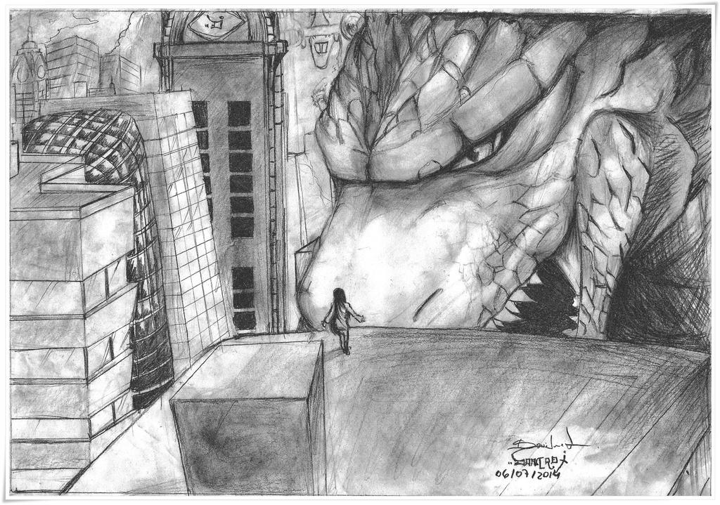 Dancrox GALERIA - Página 10 Godzilla_by_dancrox-d7phd94