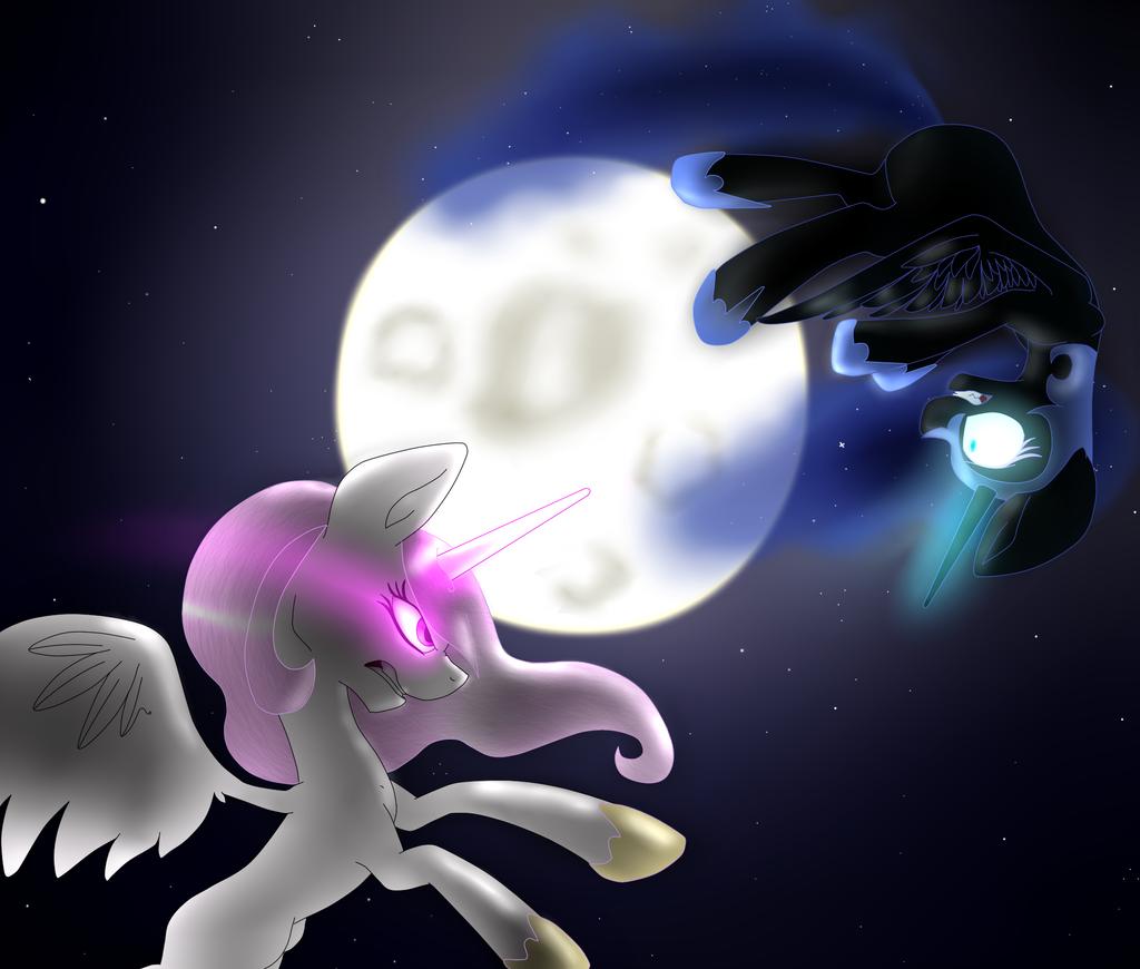 princess celestia vs nightmare - photo #20