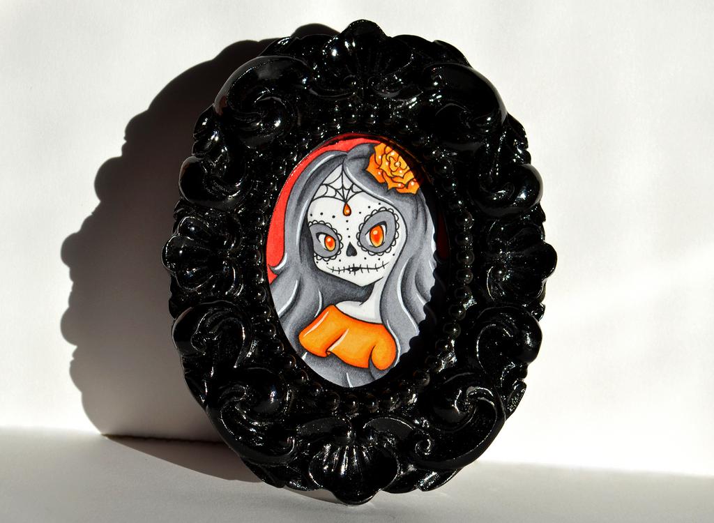 Sugar Skull Girl by SweetSonar