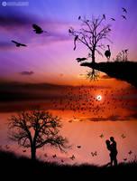 sunset love by adypetrisor