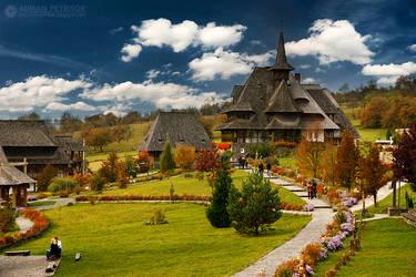 Barsana Monastery by adypetrisor