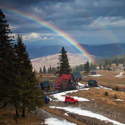 Spring rainbow by adypetrisor