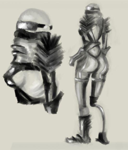 Character Design Speedpaint #2 by AlexaJeanKay