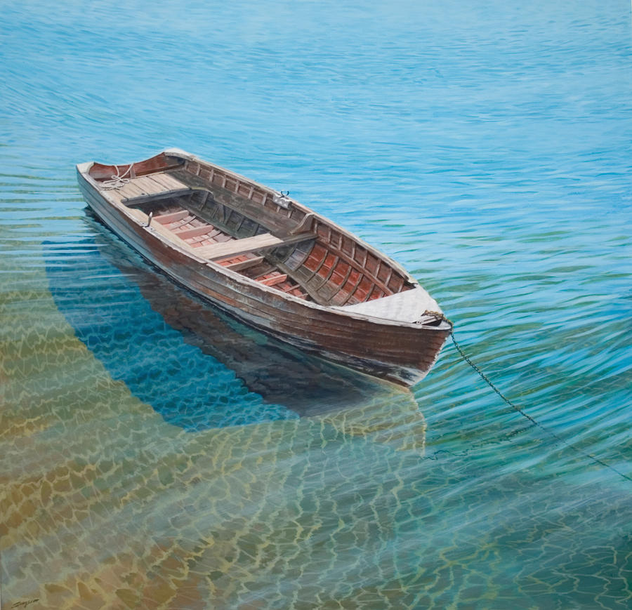 The old wooden boat by fredasurgenor on deviantart for What to do with an old boat