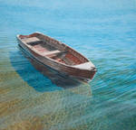 The old wooden boat