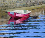 The old red boat