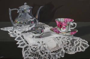 Afternoon tea by FredaSurgenor