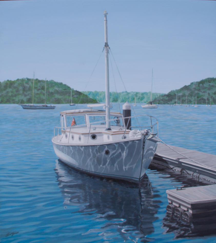 Gray's boat by fredasurgenor